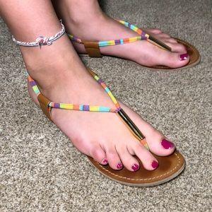 Steve Madden -Multi-colored Sandal